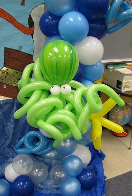 забавна декорация с балони