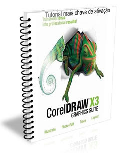 corel draw x3 Tutorial de ativação mais chave de ativação do corel Draw X3(Pedido)