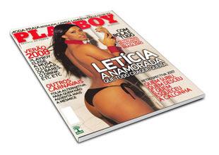 Letícia Carlos - Revista Playboy - Janeiro de 2008
