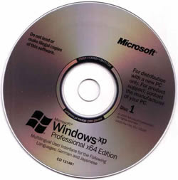 WInstall Windows XP 64 Bits Full SP2 (IE7 e MP11)