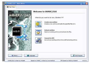 UHARC GUI portatil