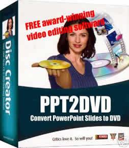 PPT2DVD [Transforme suas apresentações do Power Point em formato DVD]
