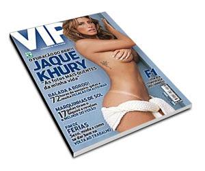 Revista VIP - Jaque Khury BBB 8 - Março de 2008