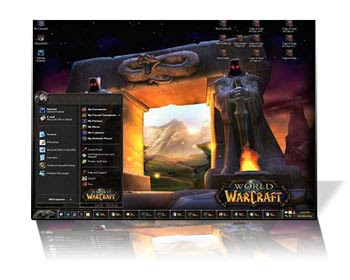 World Of Warcraft Theme XP e Vista