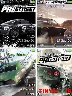 Pro+Street+%28Mobile+Theme%29 NFS: Pro Street Mobile Theme