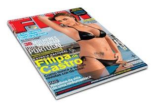 Revista FHM - Abril 2008: Filipa de Castro
