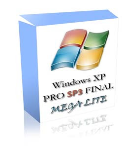 xplite Windows XP Professional SP3 Final Mega Lite