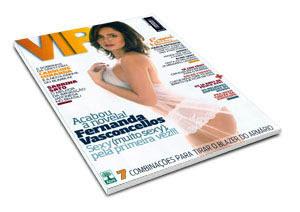 Revista VIP - Fernanda Vasconcellos  - Junho de 2008