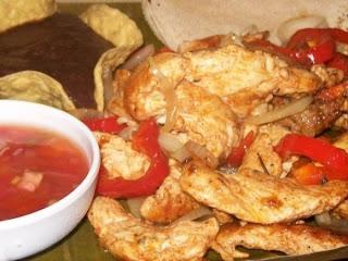 Articole culinare : Pui cu ardei capia in stil exotic