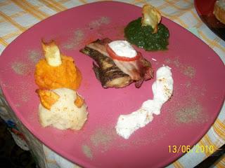 Articole culinare : Peste cu diferite tipuri de piure