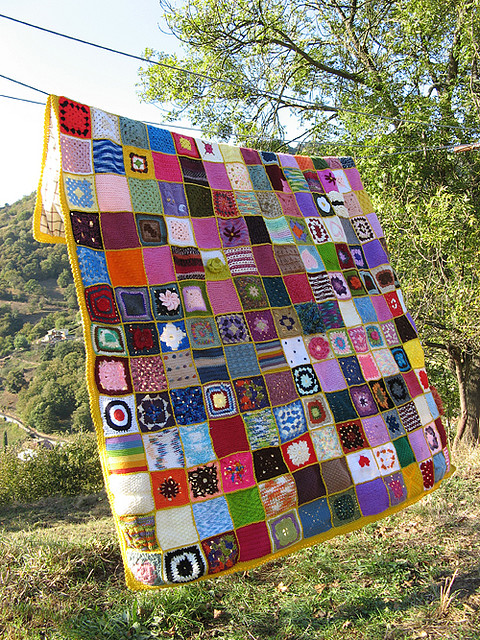 Colcha colectiva / Collective blanket