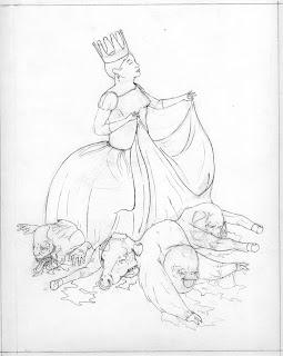 Good vs Evil Sketch