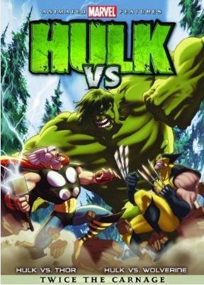 Filme Poster Hulk vs Wolverine e Thor DVDRip RMVB Dublado
