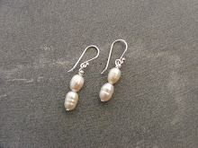 Fresh Water Hand-wrapped Pearl Earrings