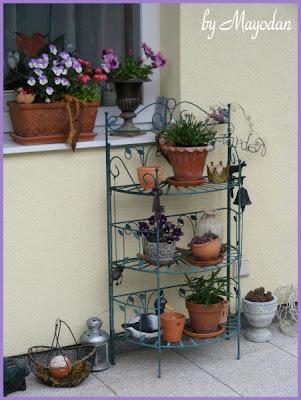 mayodans garden crafts unser garten anfang mai. Black Bedroom Furniture Sets. Home Design Ideas