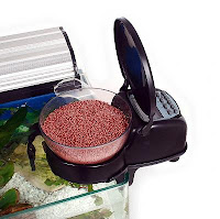 aquarium automatic fish feeder