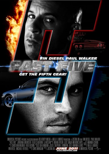 the fast five poster. fast five teaser. fast five