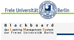 How to register and log-into the Blackboard (FU Berlin e-learning)