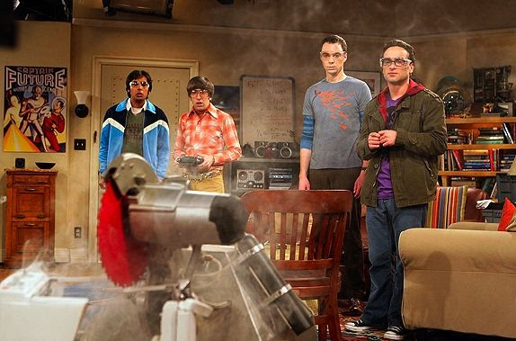 Image result for KILLER ROBOT big bang theory gif