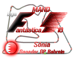 Ganadora G.P. Bahrein LFM´10