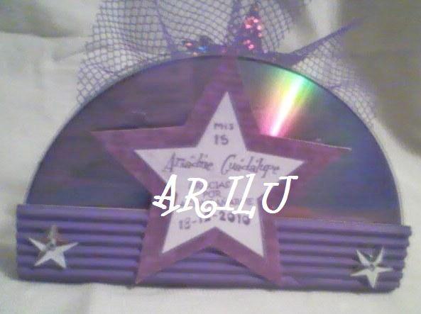 De Estrellas La Etiqueta La Hice En Forma De Estrella