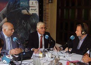 """CON EL PRESIDENTE DE CASTILLA-LA MANCHA EN LA FERIA 2010 EN EL RESTAURANTE """"DON GIL"""""""