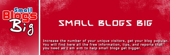 Small Blogs Big