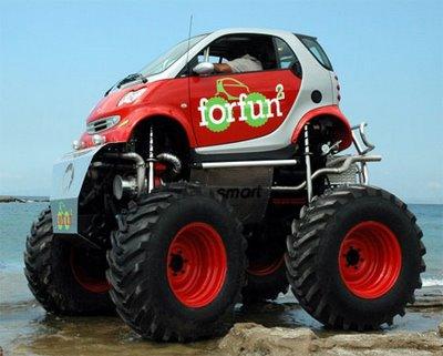 cool smart car body kits sport car