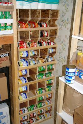 Food Storage Can Rotation Shelves & Cottam Corn: Food Storage Can Rotation Shelves