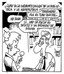 Humor bibliotecario