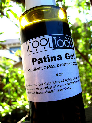 cool tools patina gel liver sulfur oxidizing jewelry