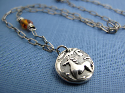 silver horse charm necklace hint jewelry