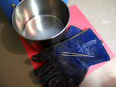 tools for firing metal clay