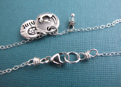 silver turtle rabbit charm hint jewelry