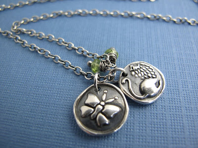 silver lion courage butterfly necklace hint jewelry
