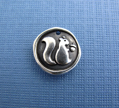 silver squirrel charm jewelry