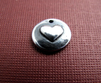 silver valentine heart charm be mine jewelry