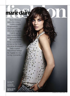 Marie Claire Katie Holmes on Katie Holmes Marie Claire Us Magazine Photo