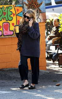 Ashley Olsen out on a coffee run in LA