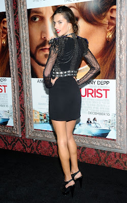 Alessandra Ambrosio at the premiere of