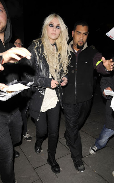 Taylor Momsen out at O2 Shepherds Bush Empire in London