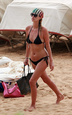 Nicky Hilton showing off her bikini body in Hawaii