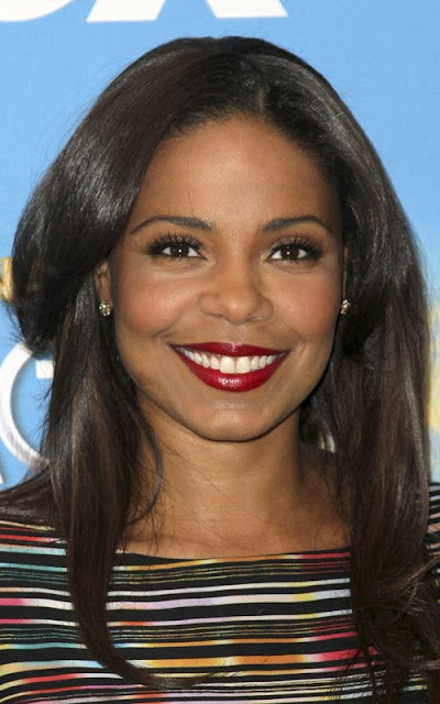 Sanaa Lathan and friends at the 42nd NAACP Image Awards Nomination Ceremony