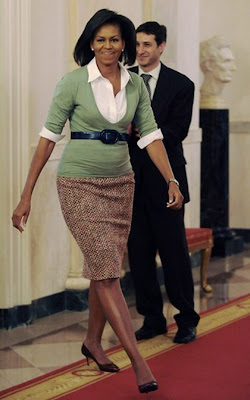 Pictures of pregnant michelle obama