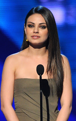 Mial Kunis at the 2011 People's Choice Awards