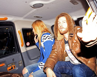 Mischa Barton and boyfriend DJ Ali Love getting pulled over by police