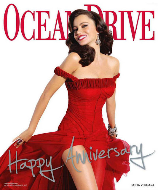Sofia Vergara Ocean Drive Magazine January 2011