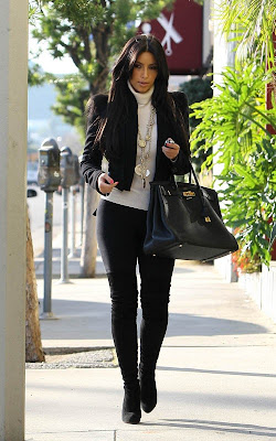 Kim Kardashian out in LA