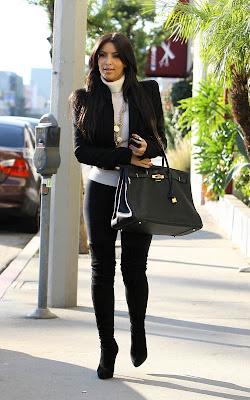 Kim Kardashian out in LA