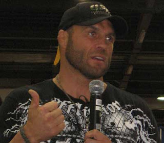 Randy Couture speaks at Arnold Fitness Weekend 2007